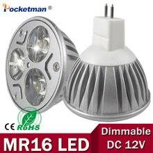 Mr16 gu5.3 gu10 e27 e14 conduziu a lâmpada de luz do ponto 12 v 220 v 110 v 9 w 12 w 15 w conduziu a lâmpada do bulbo do bulbo gu 5.3 quente/branco fresco