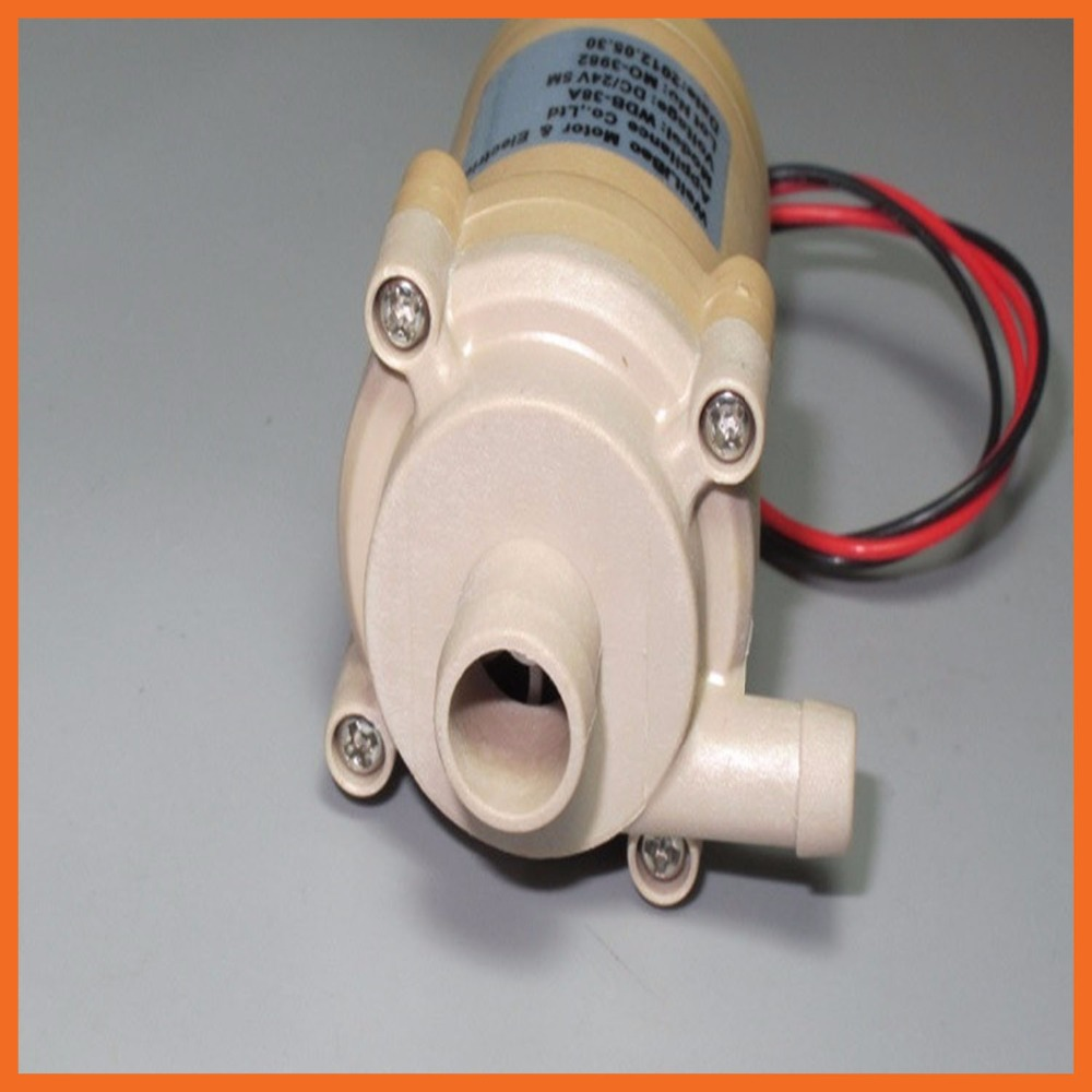 US $38 99 |large flow brushless water pump full sealed centrifugal pump  shower bath heat pump circulating pump WDB 38A 12 24V-in Pumps from Home