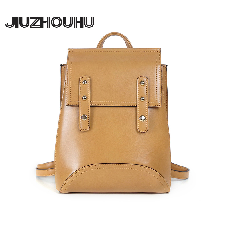 New arrvial High end mini backpack women top grade pu leather small double shoulders bag England