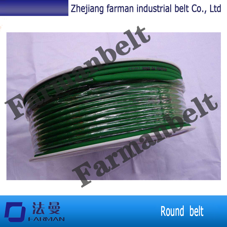 Extruded thermoplastic polyurethane PUround belt
