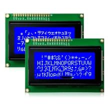 1604a lcd 화면 1604a 5 v 블루 스크린 1604 lcd 문자 16x4 모듈