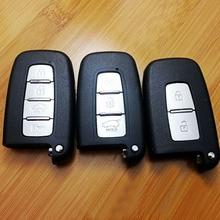 2 Кнопки/3 Кнопки/4 Кнопки для Hyundai Smart Remote Ключевые Shell Для Нового Санта, IX35 Соната 8, Elantra, Нью-Санта, Lingxiang