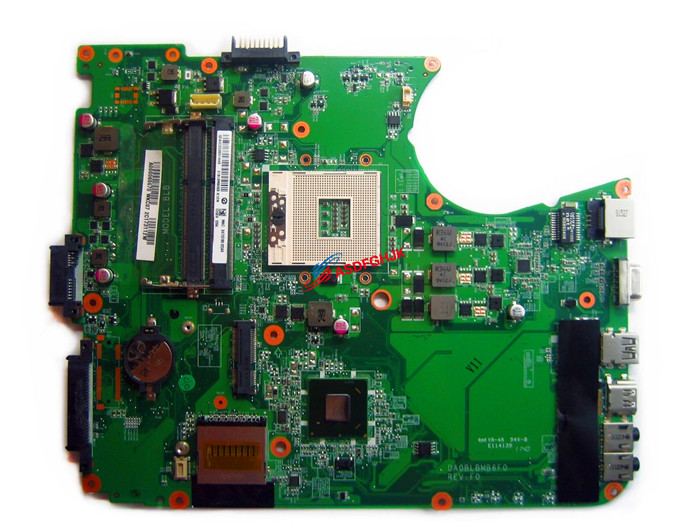 Original FOR Toshiba Satellite L750 L755 LAPTOP MOTHERBOARD A000080670 DA0BLBMB6F0 Test Free Shipping стоимость