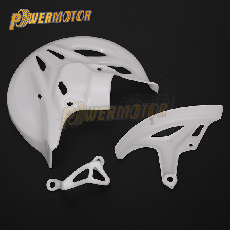 Brake Disc Protective Cover Protective Plate Brake Protection Rear Calipers Cover Fit To <font><b>CRF</b></font> T4 T6 <font><b>CRF</b></font> 250 <font><b>CRF</b></font> <font><b>450</b></font> Dirt Bikes image