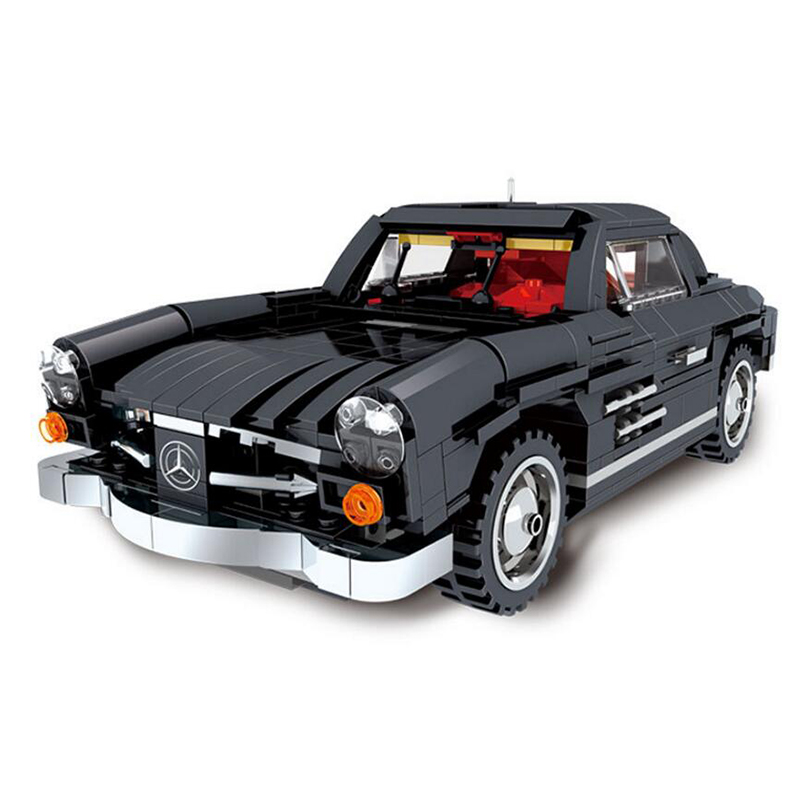 825pcs 03010 Dibang sports car model classic cars building blocks assembled fight inserted blocks educational toy model gift puzzle toy building blocks assembled fight inserted toys