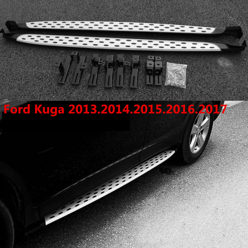 for ford kuga running boards auto. Black Bedroom Furniture Sets. Home Design Ideas