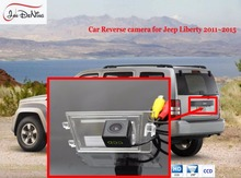 JanDeNing For Jeep Liberty 2011-2015 HD CCD Car Rear View Parking/ Backup Reverse Camera/Waterproof  License Plate Light OEM