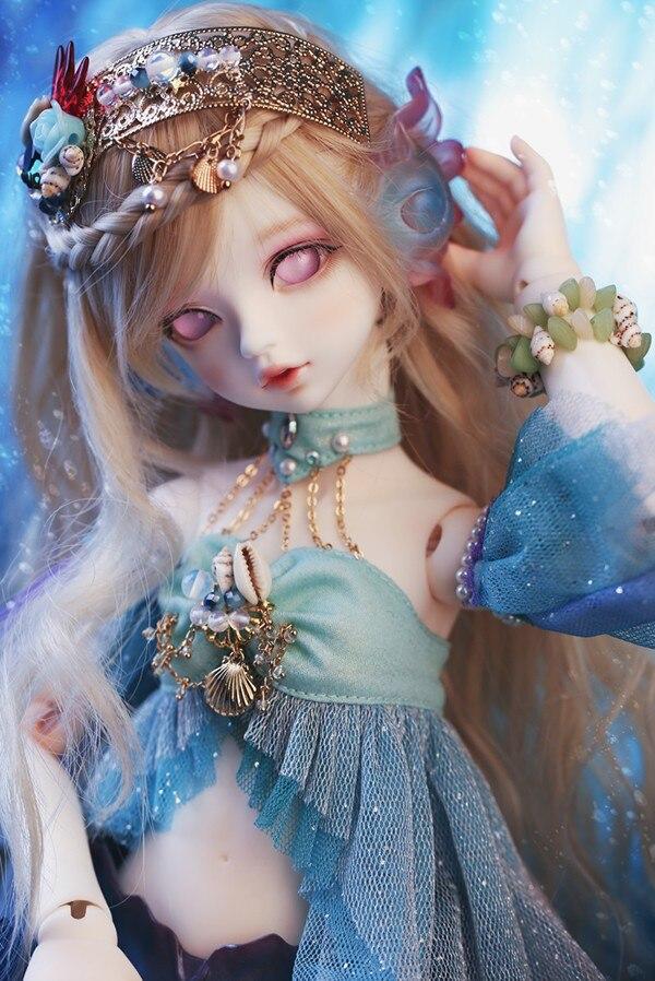 luodoll  bjd doll sd doll Soom Serin & Rico bjd doll mermaid free makeup free shipping tetiana tikhovska paper doll
