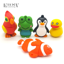 Penguin Frog Parrot Animals USB Memory Stick Flash Drive Disk