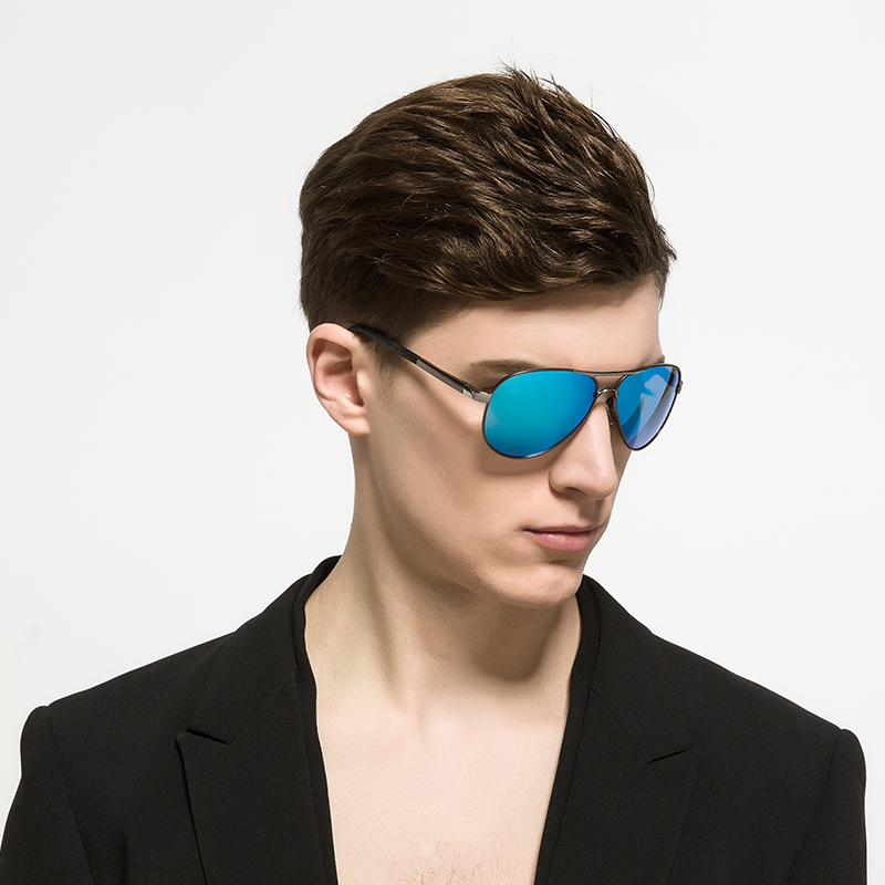 34ce71b0f5a SPACE Design Bursts of Men Polarized Sunglasses bright color Sunglasses  driving Glasses With Original Case-in Sunglasses from Apparel Accessories  on ...