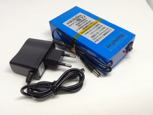 3pcs/lot New Portable Li-Ion battery 12V rechargeable 9800mah lithium pack Free Shipping