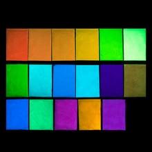 Новый 10 г/лот Покрытие Nail Art Блеск Фосфор Световой Порошковое Покрытие DIY Фотолюминесцентный Пыли Светятся в Темноте Пигмент(China (Mainland))