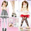 Princess sweet lolita pantyhose HARAJUKU romper Japan's original brown bear pink angel Cat crown cross Velvet  tights  LKW4-2