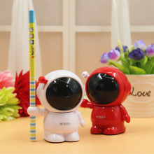 M&G astronaut pencil sharpeners The students hand knife sharpener Lovely animal model machine