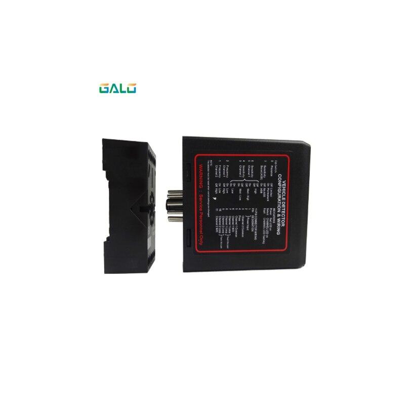 Gate vehicle access control dual two Channel Loop Detector/Inductive Loop Parking Detectors220v 110V 24V DC 12V DcGate vehicle access control dual two Channel Loop Detector/Inductive Loop Parking Detectors220v 110V 24V DC 12V Dc