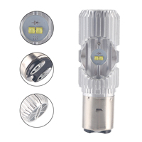 H6 Led Motorcycle Headlight Bulbs Led 1200LM BA20D H L Lamp Scooter ATV Moto Accessories Fog