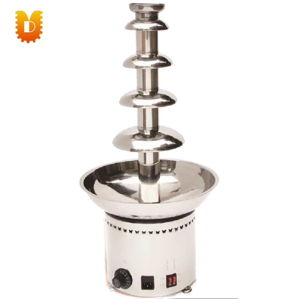 201 stainless steel 5 layers chocolate fountain maker wedding party