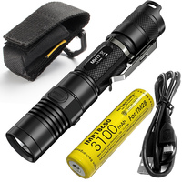 SALE NITECORE 1000Lumen MH12 MH12W XM L2 U2 LED Rechargeable Flashlight Search Rescue Portable Torch 18650 Battery Free Shipping