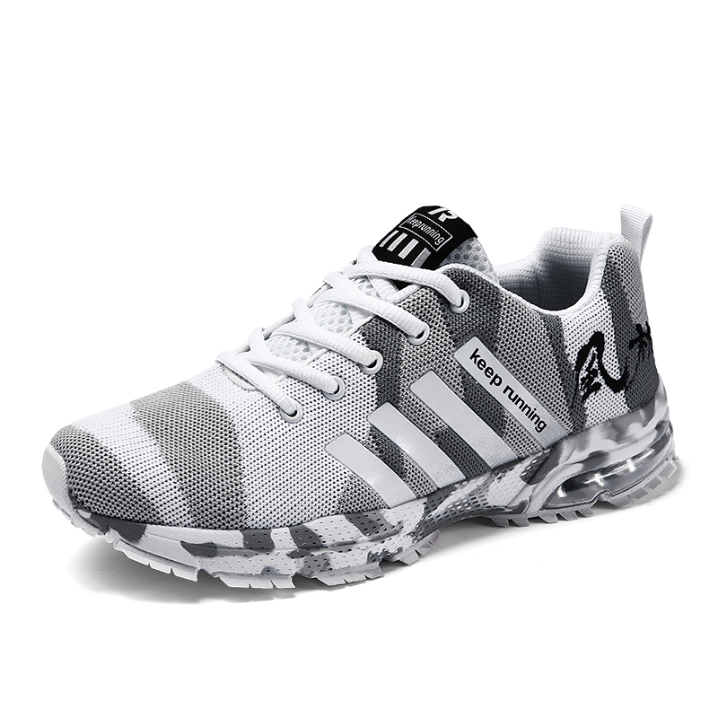 Unisex Big Size 36-46 Comfortable Non-slip Outdoor Male Sneaker Trainer Shoes Women Breathable Good Quality Running Shoes