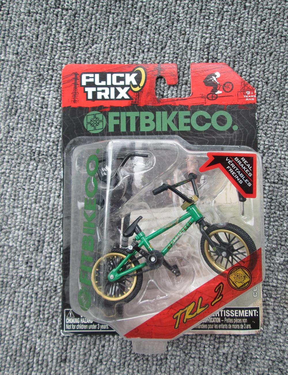 Hot Sale! Mini DIY flick trix Finger bike Bmx Diecast Nickel Finger Bicycle interesting toys GIFT for children kids Toys