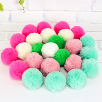 10 Pcs/lot Soft Colorful Cat Toy Ball