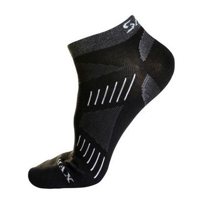 Summer Women Men Short Bike Cycling Running Sport Socks, Girls Female Cotton COOLMAX Thin Trekking Climbing Socks