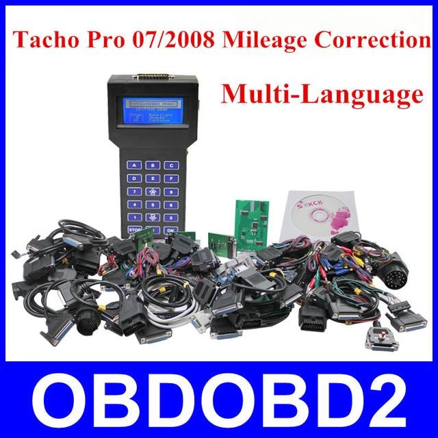 2015 Professional Tacho Pro 07/2008 Universal Plus Unlock Mileage Correction Dash Programmer Keyreader Odometer Programmer DHL