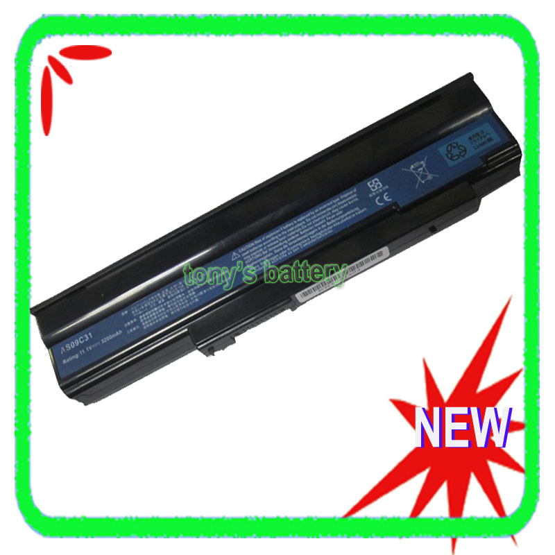 6Cell Laptop Battery for Acer Extensa <font><b>AS09C75</b></font> 5235-302G25Mn 5635Z-422G16N 5635ZG-422G25Mn 5635ZG-442G16Mi 5635G-654G50MN image