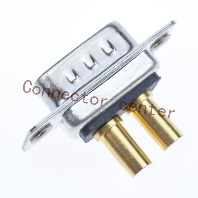 Image 3 - High Power DSUB DB Connector 2V2 male Machined Pin Full Gold Flash Wire Typeconnector bootwire splice connectorconnector terminal -