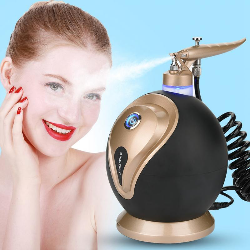 Oxygen Jet Facial Machine Micro-nano Moisturizing Oxygen Spray Therapy Facial Spa Skin Rejuvenation Anti Wrinkle Beauty Device