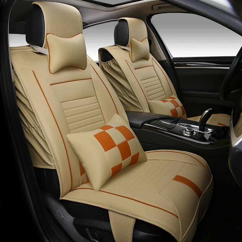 SeatsFront RearAuto Car Seat Covers Protector For MAZDA B - Brown mazda service