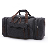 Canvas Men Travel Bags Carry On Luggage Bags Men Duffel Bag Travel Tote Large Weekend Bag Overnight Large Capacity Handbag Tote