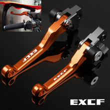 For KTM 250EXC-F/350EXC-F/450EXC-F/500EXC-F CNC Motorcycle Dirt Pit Bike Pivot Brake Clutch Levers 250/350/450/500 EXCF EXC F for ktm 350exc f 350excf 350 exc f excf 2011 2013 2014 2018 2017 motocross cnc pivot brake clutch levers dirt bike motorcycle