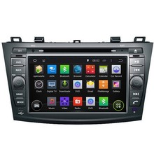 NEW Rom 16 G 1024 * 600 Quad Core Android 5.1 Fit Mazda3 2010 2011 2012 2013 -2015 Car DVD Player head unit DVD GPS TV 3 G radio