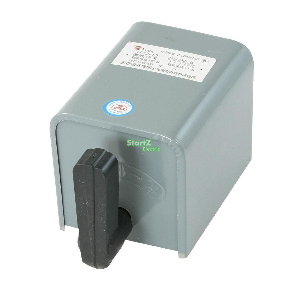 цена на Forward Stop Reverse Cam Starter Change Over Switch 380VAC 15A