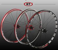 2017 new Original RT A100 20 inch 451 /406 folding bicycle wheel Perrin BMX cassette disc/V brake hub bearing Super light 1290G