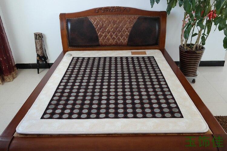 Good! Natural tourmaline mattress jade physical therapy mattress beauty mattress size 1.0X1.9M Free shipping natural latex mattress comfort revolution hydraluxe gel memory foam mattress