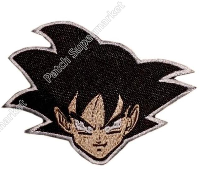 Aliexpresscom Comprar 35 Parche Cara Dragon Ball Z DBZ Goku