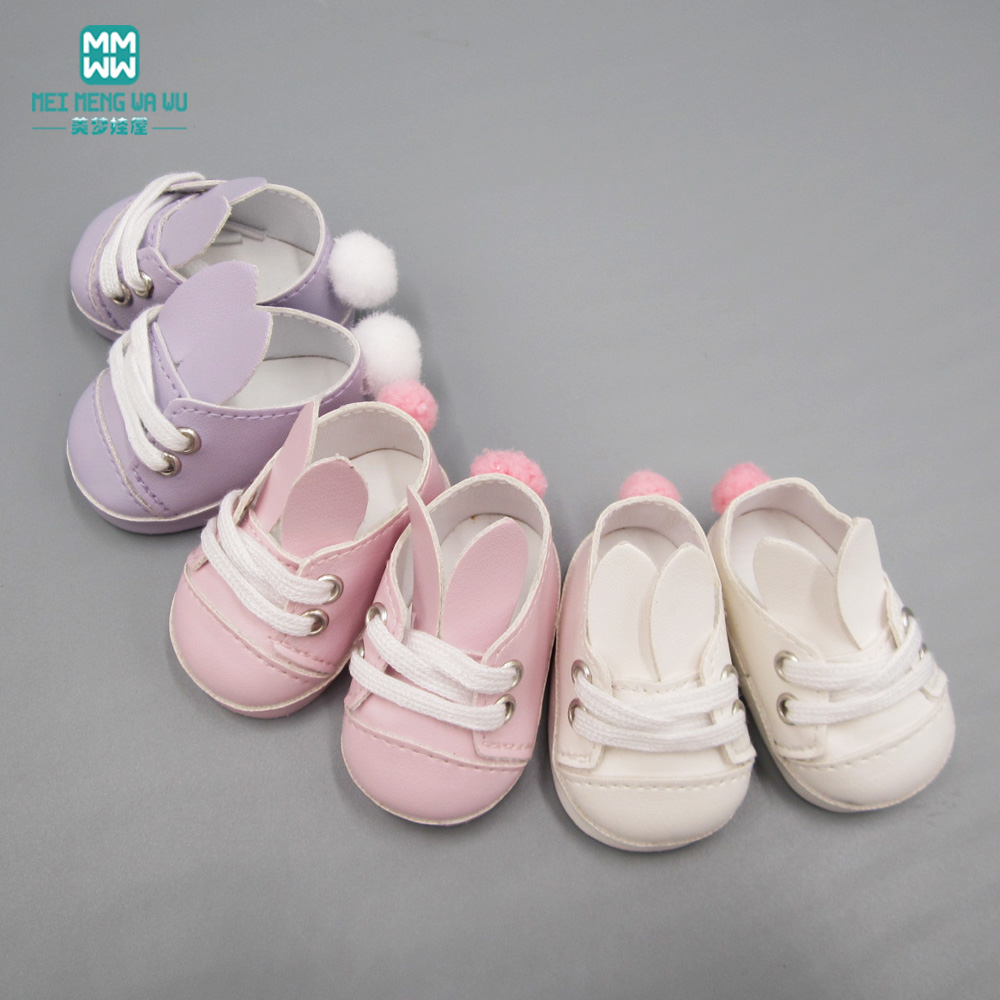 цена на Baby Born doll shoes sports shoes leather shoes fits 43 cm Zapf dolls baby born and 18 American Girl