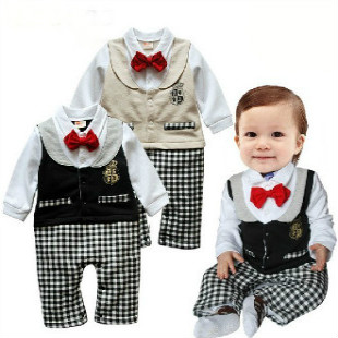 Spring Baby Clothes 0 1 Year Old Birthday Baby Boy Romper 7 9 Baby Formal Dress Dress Up Fashion Clothes Clothes Standclothes Curves Aliexpress