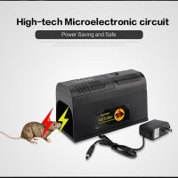 High Voltage Reusable Rat Catching Mouse Traps Bait Snap Spring Rodent Killer Trap Electric Mosquito KillerCatcher Pest Control