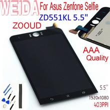 купить For Asus Zenfone Selfie ZD551KL Z00UD 5.5 LCD Display Panel Touch Screen Digitizer Glass Sensor Assembly With Adhesive Tools дешево