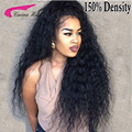 Front Lace Wigs 150% Density Full Lace Human Hair Wigs For Black Women 7A Brazilian Wig Deep Curly Lace Front Human Hair Wigs