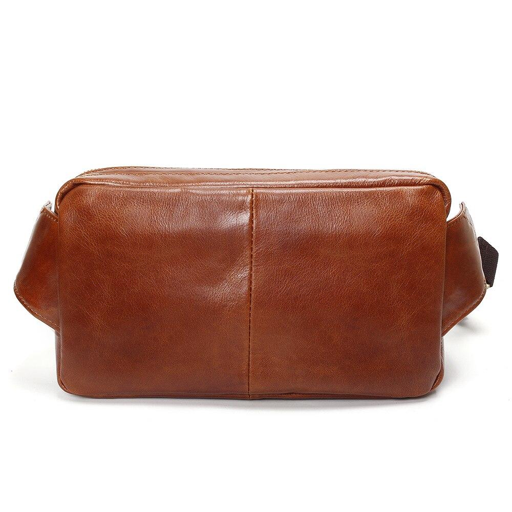 af8cf7d122d4f ... C25-100% Genuine Leather Waist Packs Fanny Pack Belt Bag Phone Pouch  Bags Travel ...