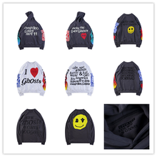 2019ss KANYE WEST KID SEE GHOSTS Men Hoodies Women OVERSIZE Sweatshirts Skateboards Sweatshirts Hip Hip Xxxtentacion Hoodies qoolxcwear kanye west hoodies sweatshirts winter men women hip hop multi colour hoodies fleece sweatshirts