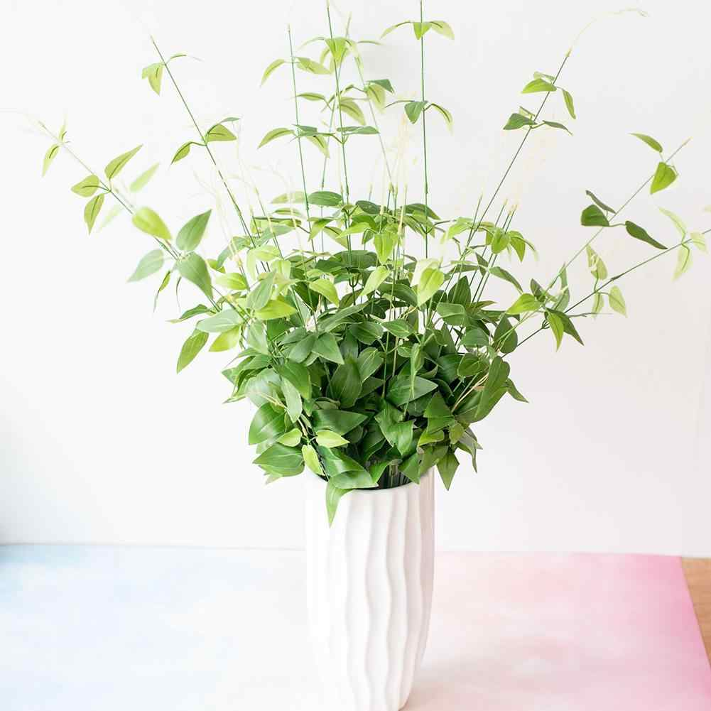 1pc Artificial Plants Bonsai Small Bamboo Tree Pot Plants Fake