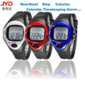 Male female outdoor sports Digital wristwatches Monitor heartbeat Calories Stopwatch time Alarm clock Multifunction watch clocks