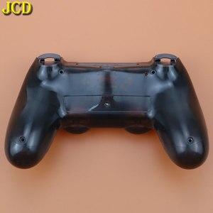 Image 5 - JCD per Sony Dualshock 4 PS4 JDM 001/ 010 / 011 Gamepad Controller trasparente anteriore posteriore custodia custodia Cover e pulsanti Mod Kit