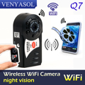 2017 Новый Мини Q7 Камера Wifi DV DVR Беспроводная IP-КАМЕРА Cam Мини Видеокамера Видеорегистратор Скрытая Инфракрасного Ночного Видения вид Небольшой камера