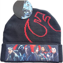 2017 Nieuwe Herfst Winter Mannen Vrouwen Rogue Een Hoed Cartoon Wars Een Verhaal 3D Movie Acteurs Tekens Borduurwerk Beanie(China)
